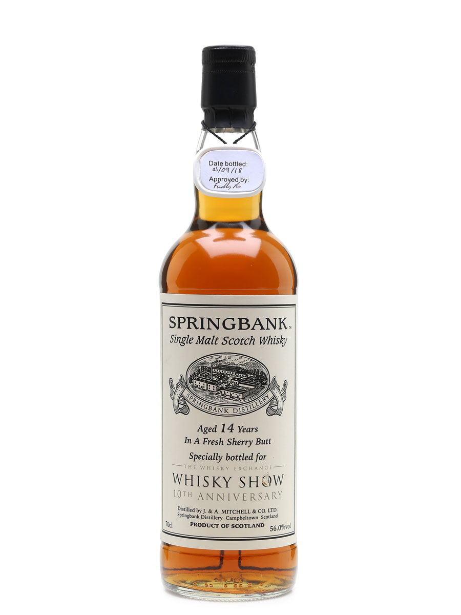 Springbank 14 Year Old Fresh Sherry Butt, Bottle 1 of 1