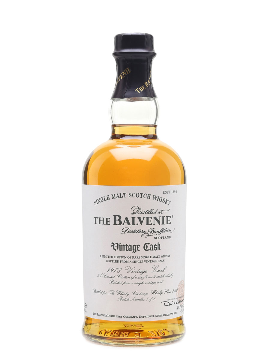 The Balvenie 1973 Vintage Cask, Bottle 1 of 1