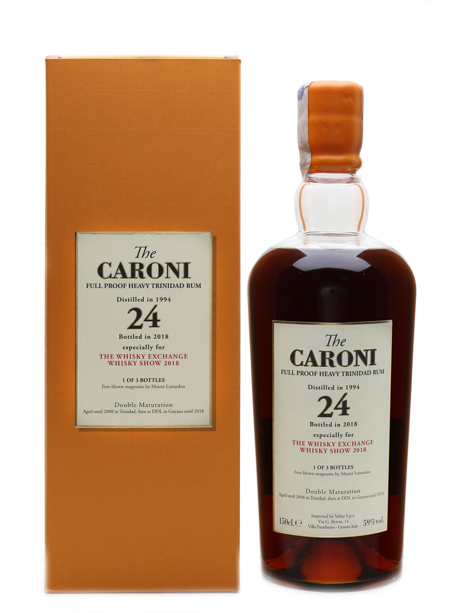 Caroni Guyana 1994 Rum Magnum, Bottle 1 of 3