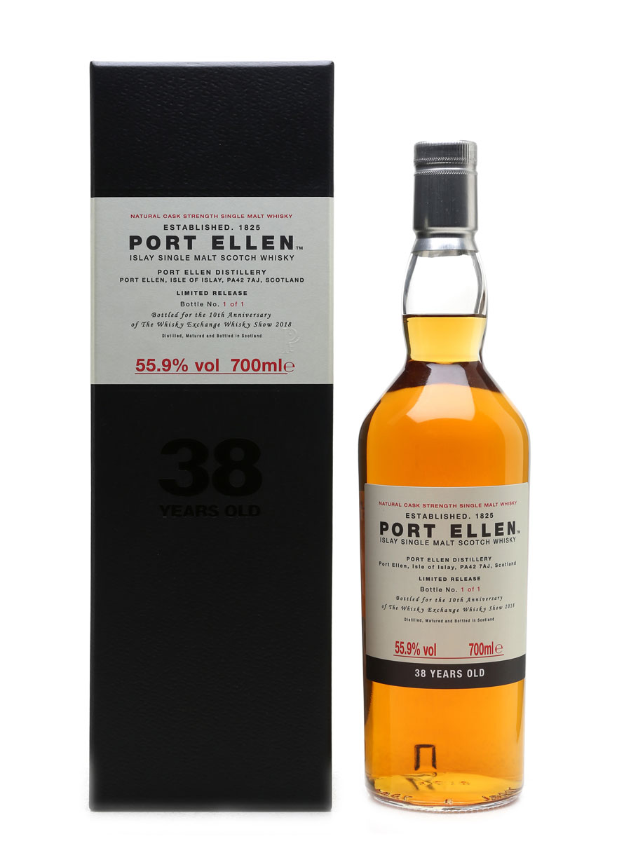 Port Ellen 38 Year Old, Bottle 1 of 1