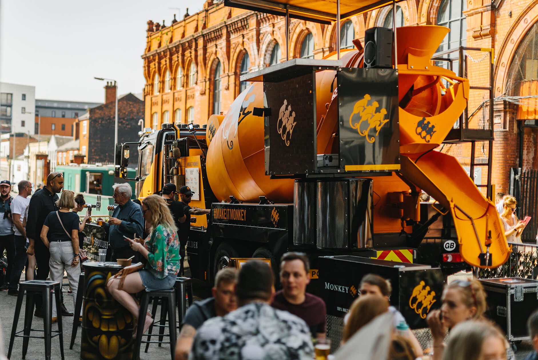 Monkey Shoulder Mixer Truck Party Experience