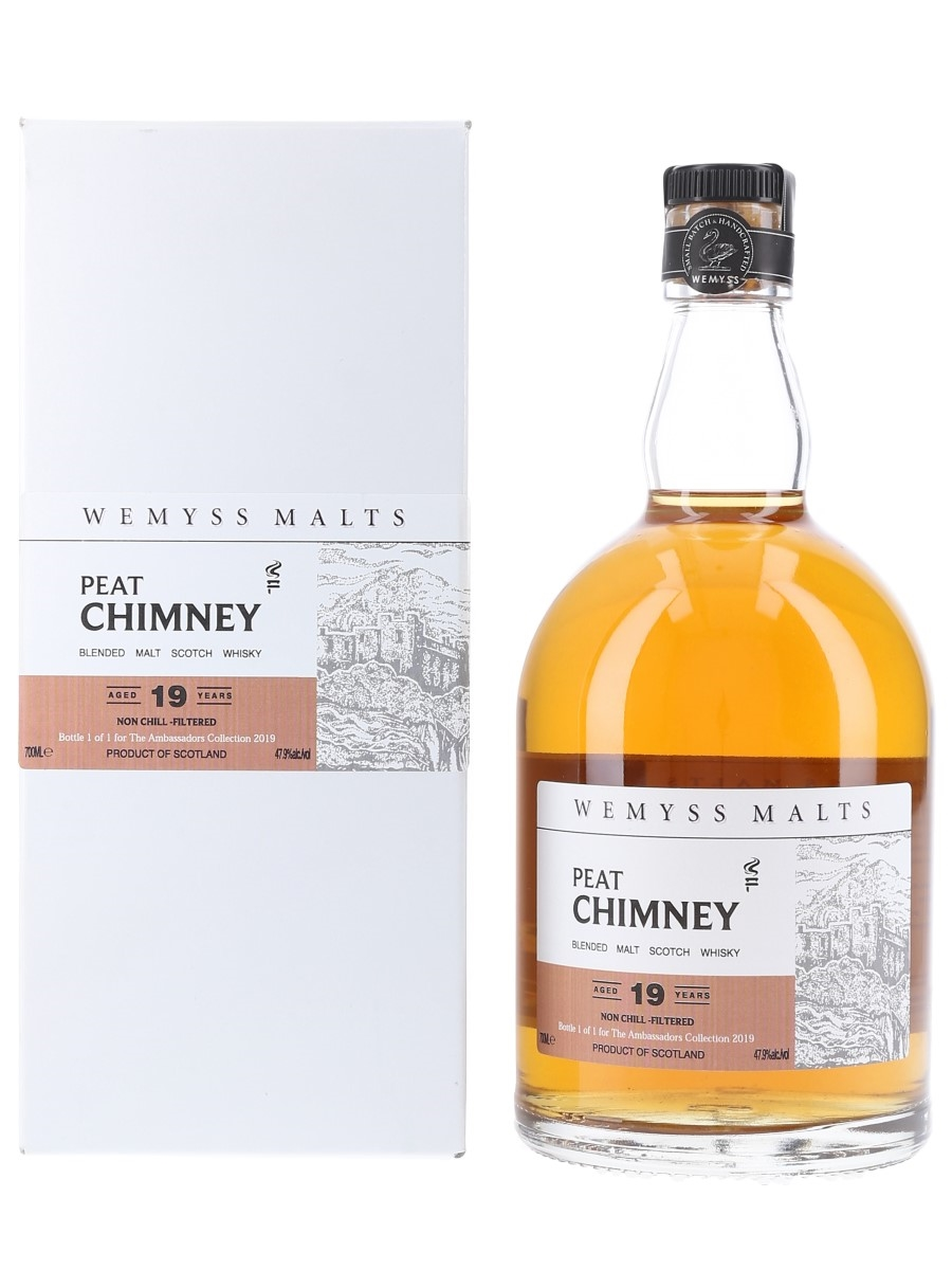 Wemyss Peat Chimney 19 Year Old - Bottle 1 Of 1