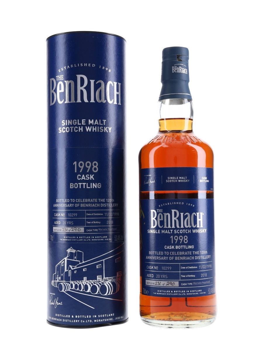 Benriach 1998 Single Cask